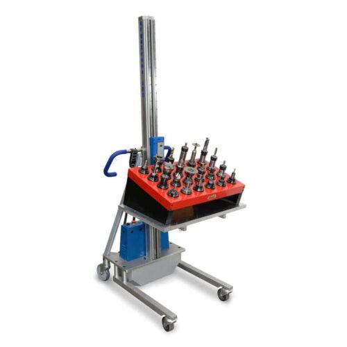 Ergo Tranz CNC Tool Caddy Lift Transporter